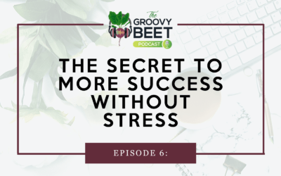 The Secret to More Success without Stress