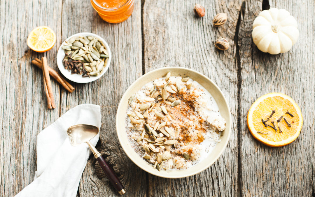 Superfood Breakfast Bowls for Fall
